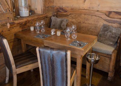 Le Chalet Table Banc