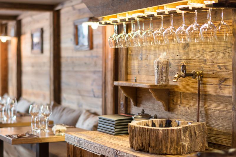 Le Chalet Bar Décorations